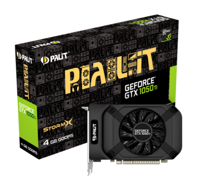 PALIT GTX1050TI STORMX 4GB, GDDR5