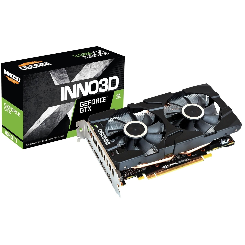 Inno3D Nvidia GeForce GTX 1660 Ti Twin X2 6GB GDDR6