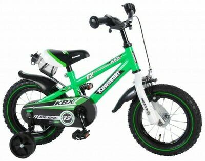 Kawasaki fiets 12 groen