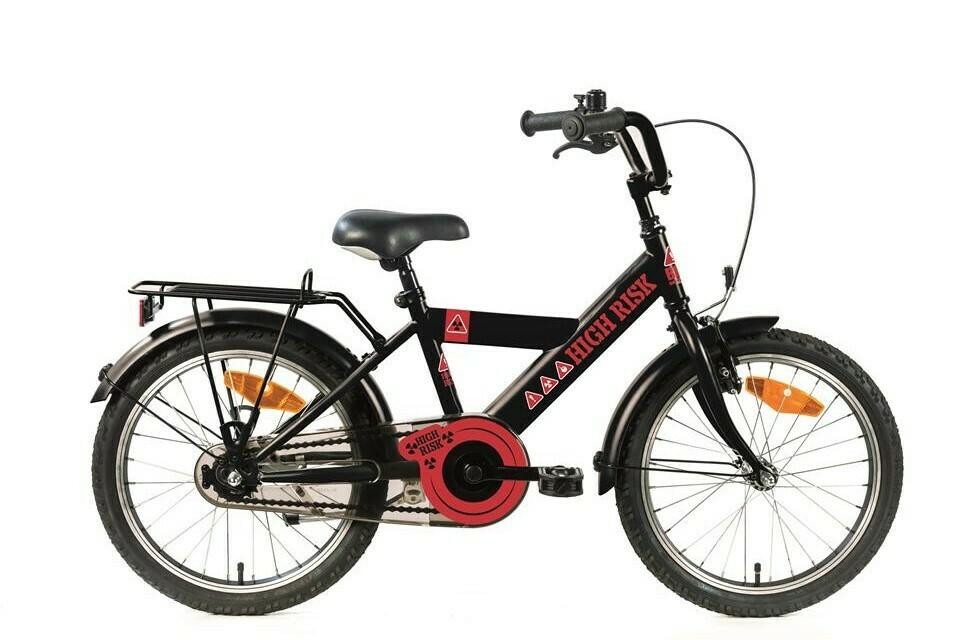 Bike Fun 18 High Risk Mat Zwart