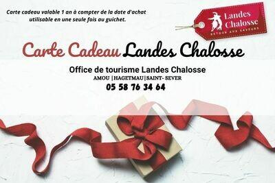 Carte cadeau Landes Chalosse