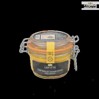 Foie gras entier de canard des Landes - Maison Lafitte - 130 grs