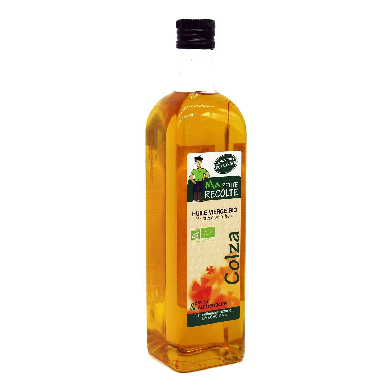 Huile de colza - Oléandes (gamme bio) - 75 cl