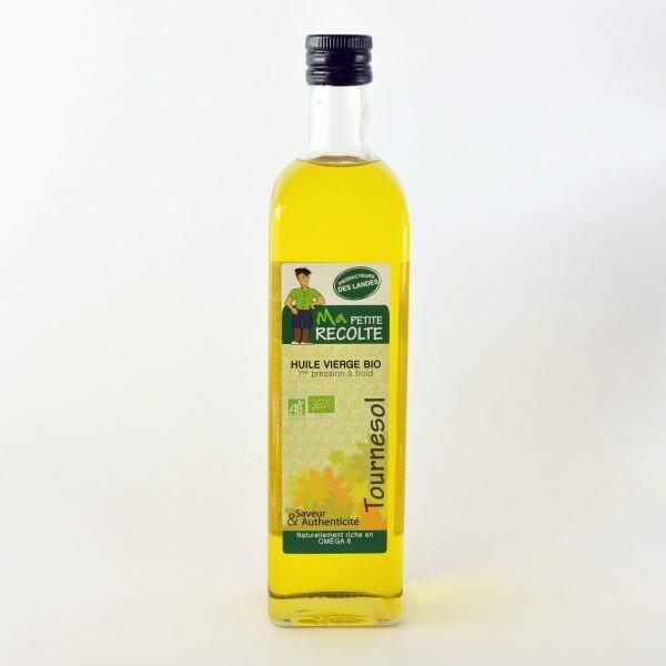 Huile de tournesol - Oléandes (gamme bio) - 75 cl