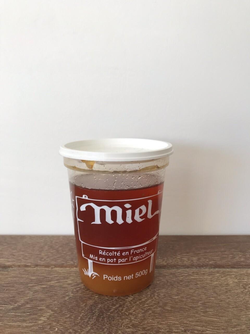 Miel d'acacia - pot de 500grs - Ferme Berdin