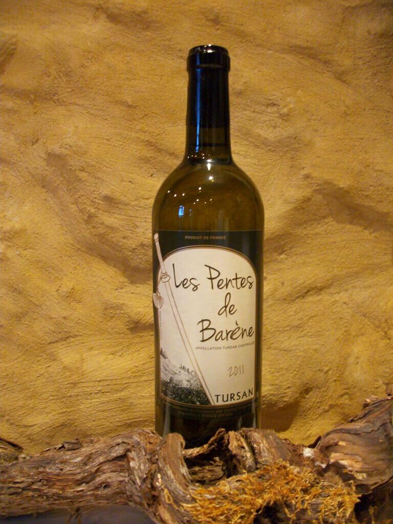 Vin blanc sec - Pentes de Barenne 75 cl