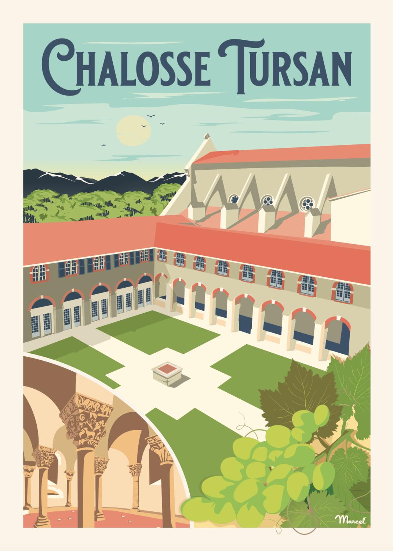 Affiche Chalosse Tursan