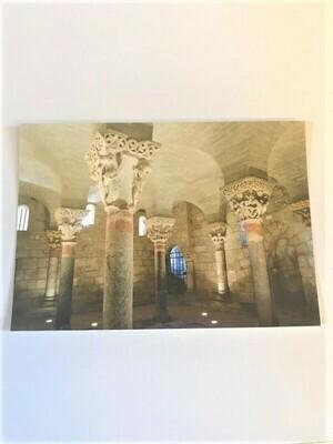 """Carte postale """"Crypte de Saint Girons"""""""