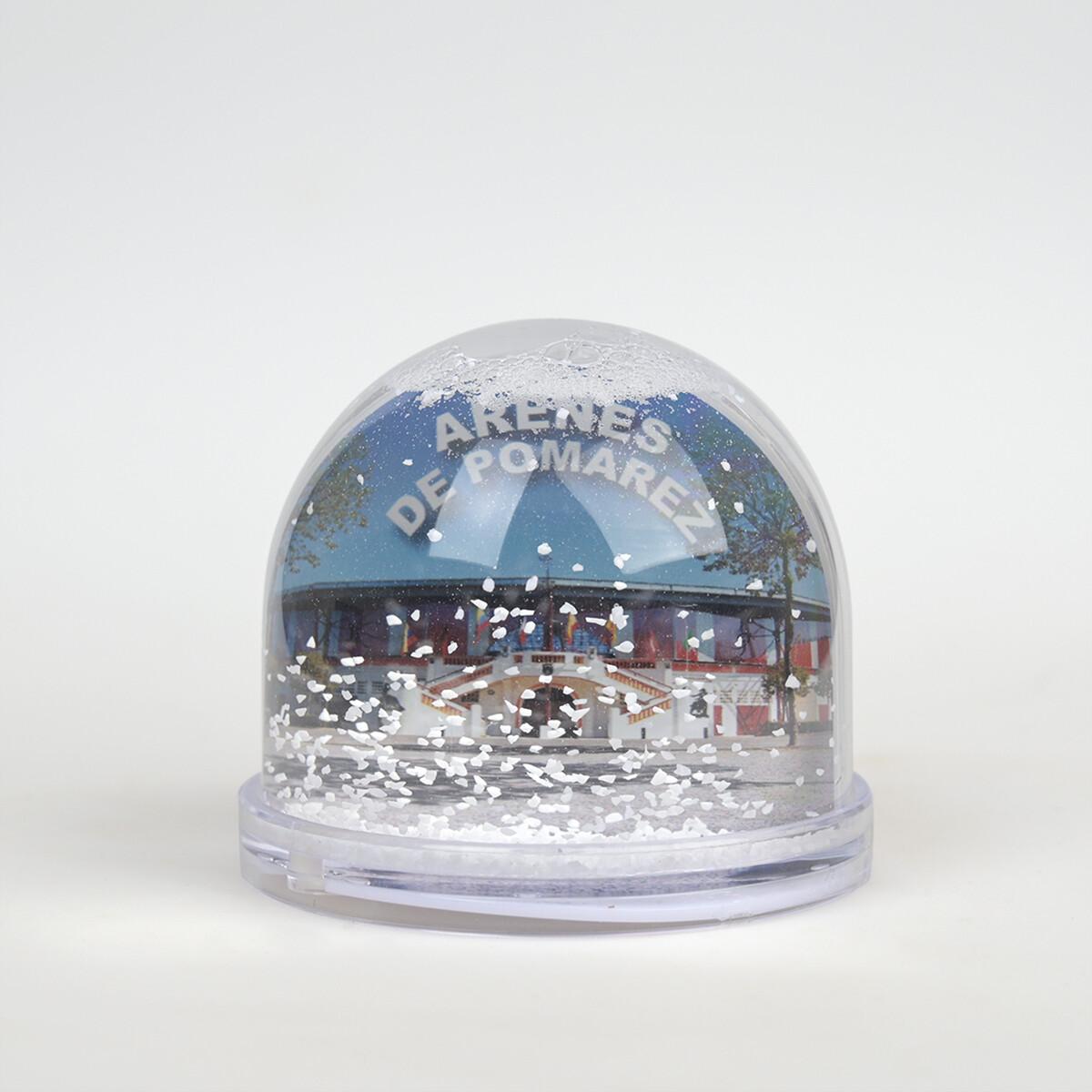 Boule à neige, thème course landaise