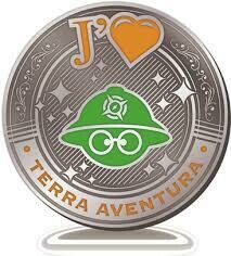 "Médaille "" J'aime Terra Aventura"""
