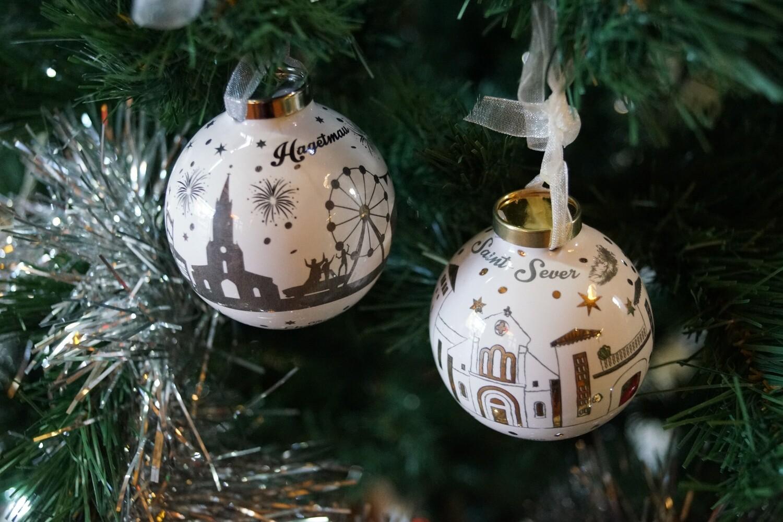 Duo Boule de Noël