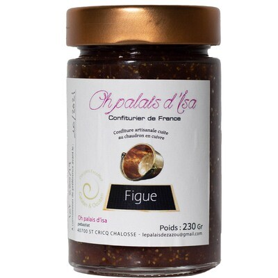 Confiture oh palais d'Isa - figues