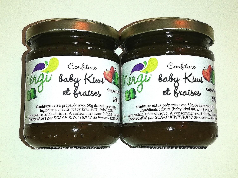 Confiture baby kiwi/fraise
