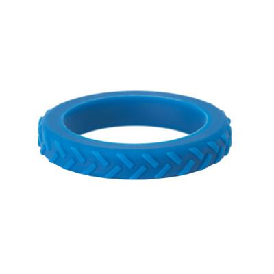 BLUE CHEWIGEM TREAD BANGLE (LARGE)