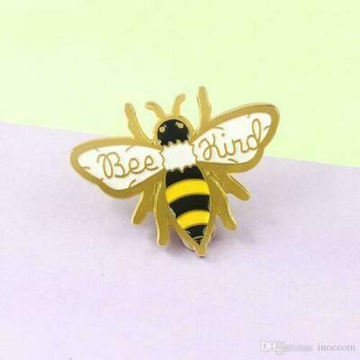 Bee Kind Enamel Pin Badge