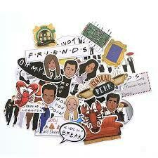FRIENDS STICKERS 33pcs