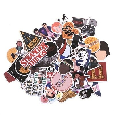 STRANGER THINGS STICKERS 66pcs