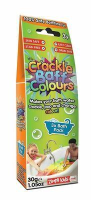 Crackle Baff Colours™ - Sensory Bathtime Fun!