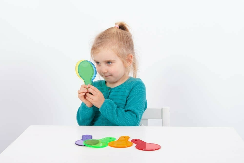 TickIT® Translucent Colour Paddles (Pack of 6)