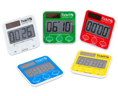 TickiT® Dual Power Countdown Timer