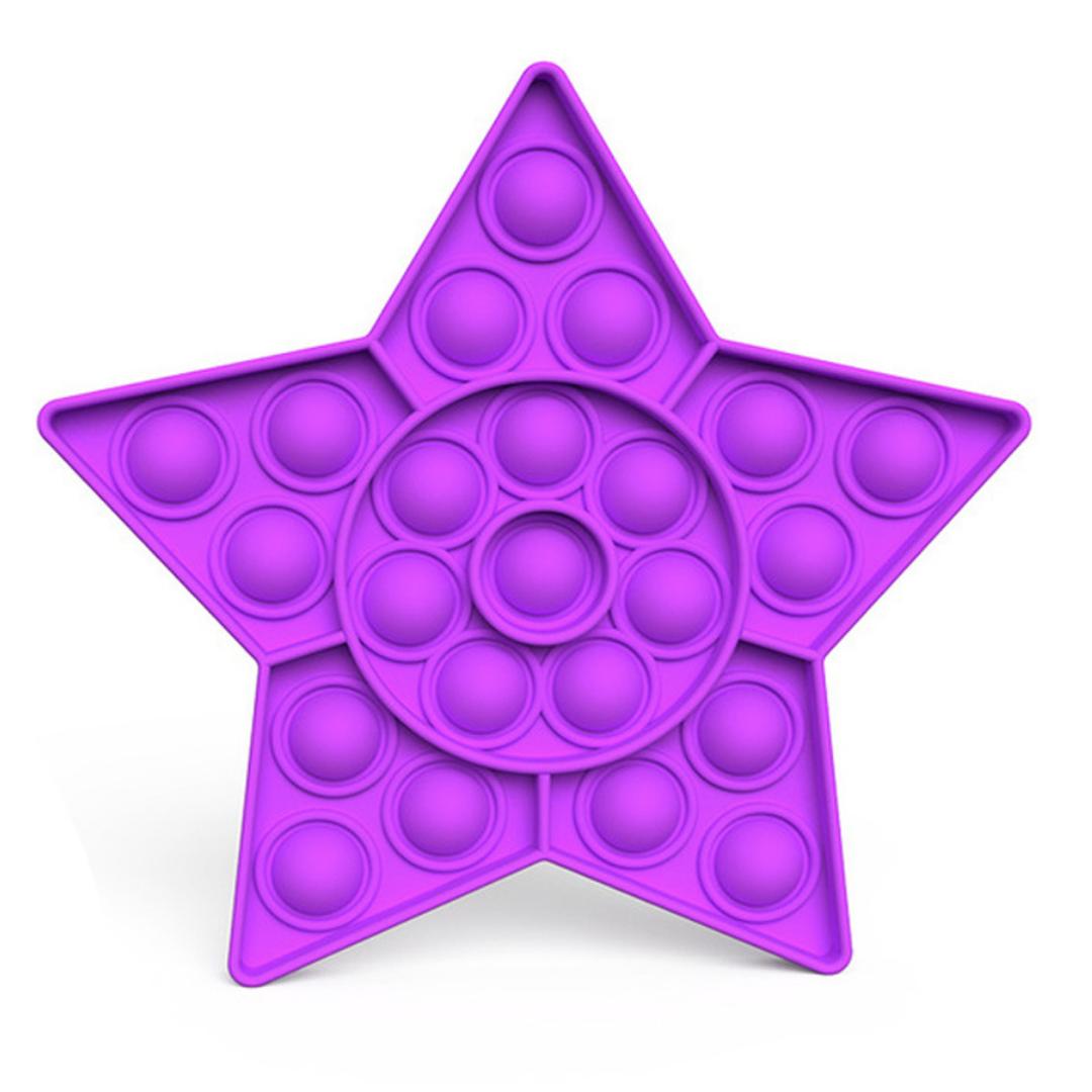 Star Push Pop Bubble Fidgets
