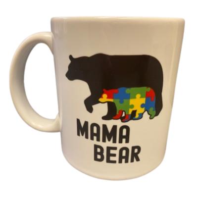 'Mama Bear' Autism Awareness Mug