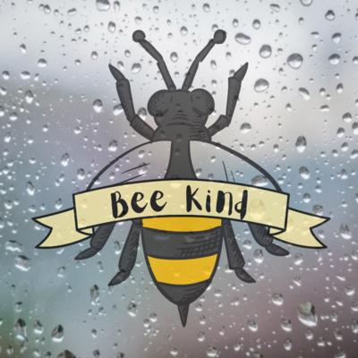 Bee Kind Car Sticker