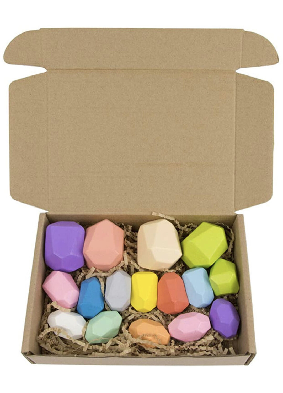 Wooden Balancing Stones (Pack of 16)