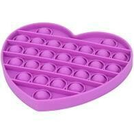 Heart Push Pop Bubble Fidgets