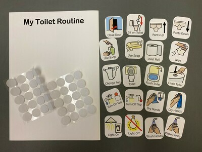 Toilet Routine 20 Symbol Pack