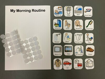 Morning Routine 20 Symbol Pack