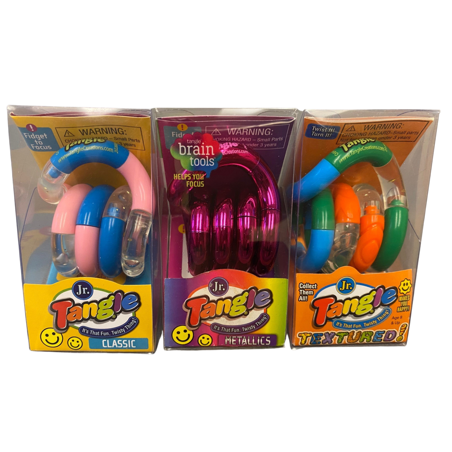 Tangle Trio (Pack of 3)