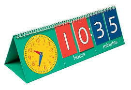 Tell The Time Flip Chart