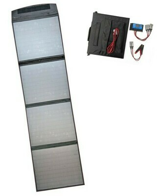 120W Folding Solar Blanket with Solar Regulator and Anderson Connectors AU STOCK