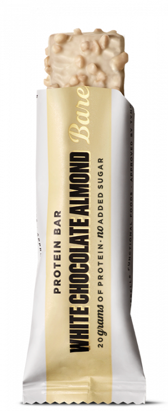BAREBELLS PROTEIN BARS-WHITE CHOCOLATE ALMOND