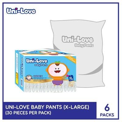 Uni-Love Baby Pants 30's (X-Large) - 6 PACKS