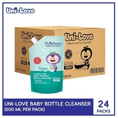 Uni-Love Baby Bottle Cleanser 500ml (1 Case)