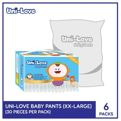 Uni-Love Baby Pants 30's (XX-Large) - 6 PACKS