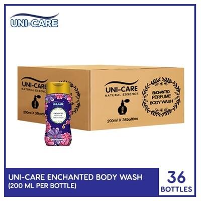 Uni-Care Enchanted Perfume Body Wash 200ml (1 Case)