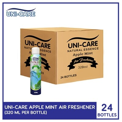 Uni-Care Apple Mint Air Freshener 320ml (1 Case)