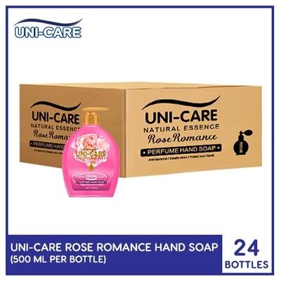 Uni-Care Rose Romance Perfume Hand Soap 500ml (1 Case)
