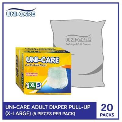 Uni-Care Adult Diaper Pull-Ups 5's (X-Large) - 20 PACKS