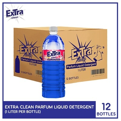 Extra Clean Parfum Liquid Detergent 1L (1 Case)