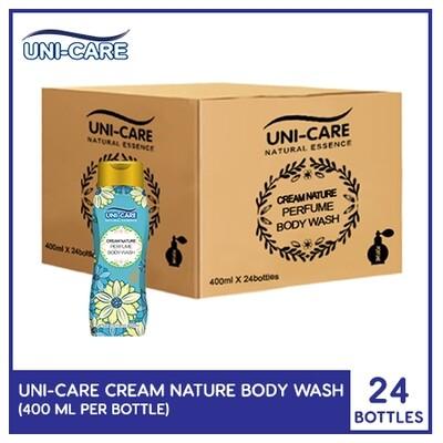 Uni-Care Cream Nature Perfume Body Wash 400ml (1 Case)