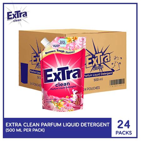 Extra Clean Parfum Liquid Detergent 500ml (1 Case)