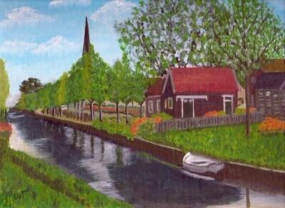 """""""Het terugkeren aan Friesland"""" (Returning to Friesland)"""