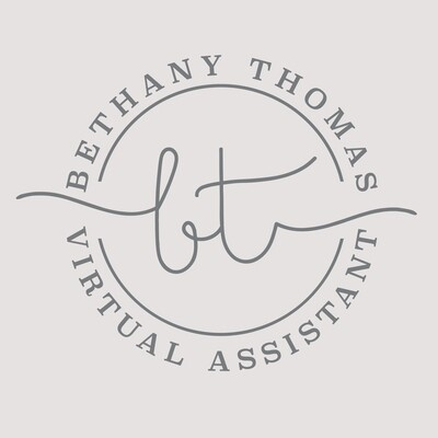 Bethany Thomas - CUSTOM LOGO STYLE