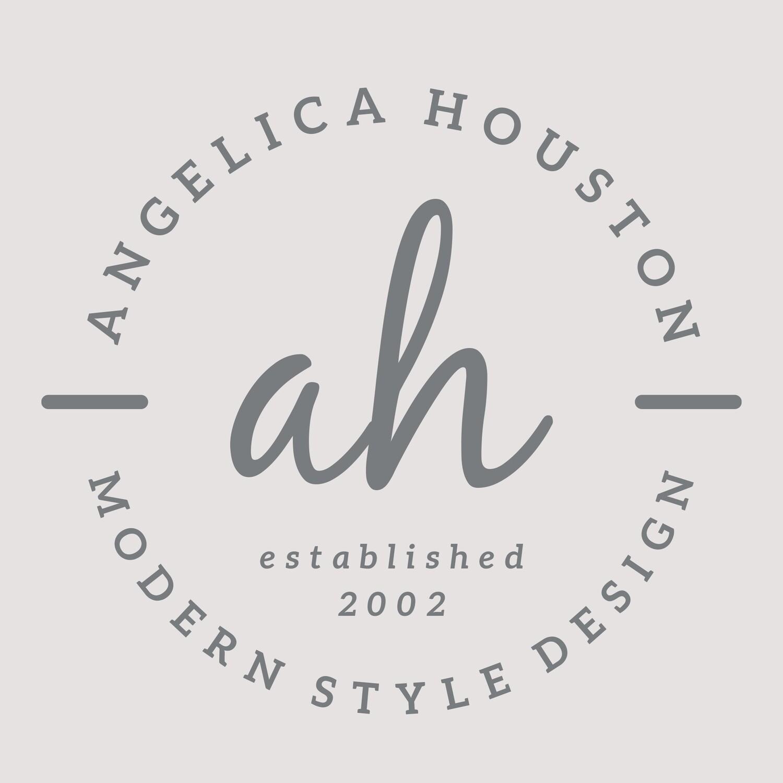 Angela Houston - CUSTOM LOGO STYLE