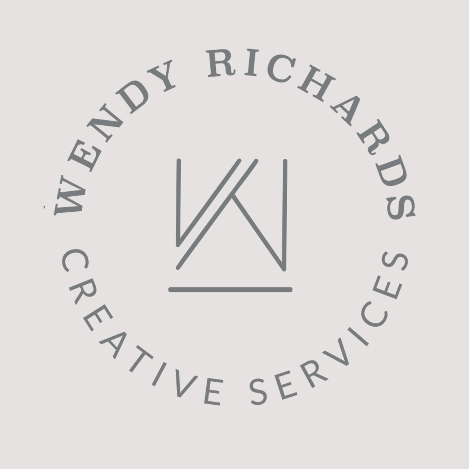 Wendy Richards - CUSTOM LOGO STYLE