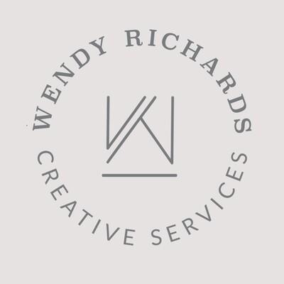 Wendy Richards - CUSTOM LOGO STYLE